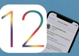 iOS 12 iPad iPhone new features Apple