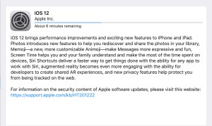 iOS 12 forApple iPad andiPhone Update