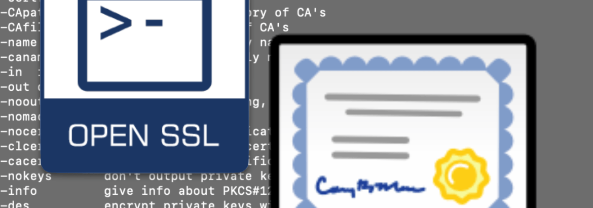 Convert  pfx to  pem Certificates Using OpenSSL - EdTechChris