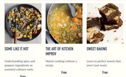 Milk Street Online Cooking Classes