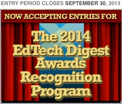 2014 EdTech Digest Awards Recognition Program