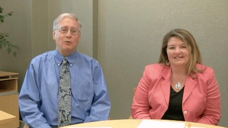 Glenn Kleiman and Mary Ann Wolf