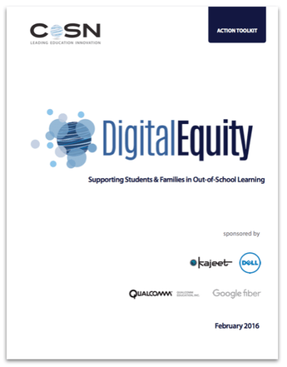 CREDIT CoSN Digital Equity - toolkit