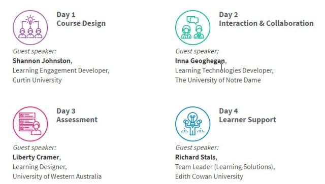 Screenshot image of Bb Bootcamp Topics