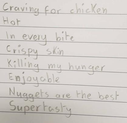 CWOTY chicken