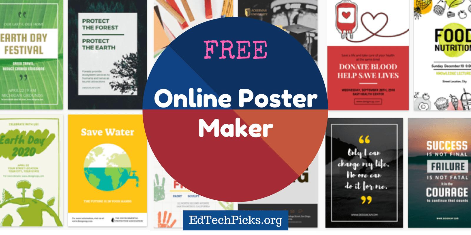 online poster design yerat