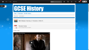 Resources for a GCSE History Unit in Frog