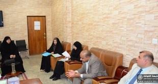 قسم اللغة العربية ينظم حلقة نقاشية بعنوان ( بلاغة الحكاية في نهج البلاغة )
