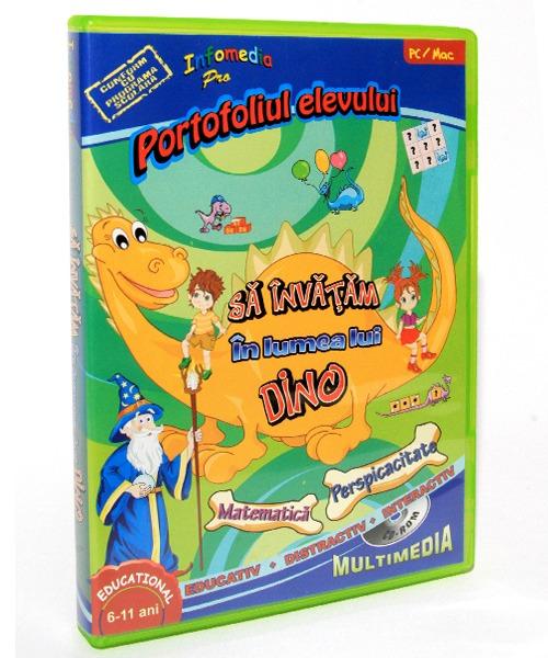 01 Sa invatam in Lumea lui Dino 22 partea I Matematica si Perspicacitate 02