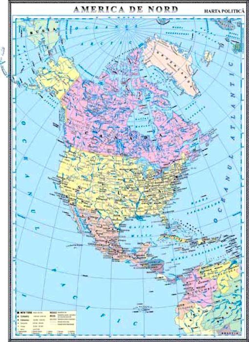 GHC10P harta america de nord politica