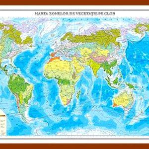 GHL7 harta zonelor de vegetatie pe glob