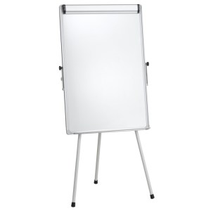 Flipchart whiteboard magnetic simplu SMT01