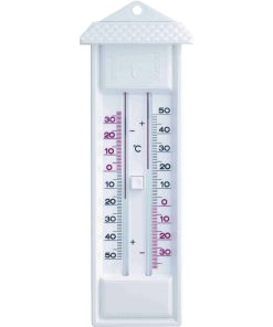 termometru analogic de perete alb scaled 1