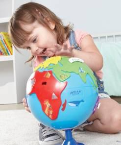 interactive puzzle globe 5