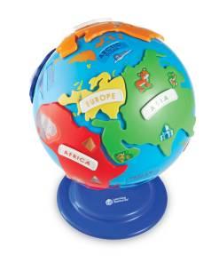 interactive puzzle globe 8
