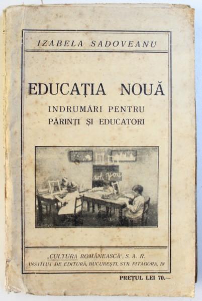 Educația nouă, de Izabela Sadoveanu