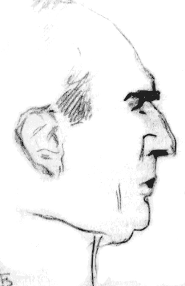 Alexandru Davila, caricatură