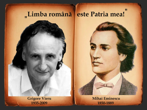 Grigore Vieru și Mihai Eminescu