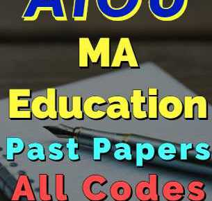 AIOU BEd Code 6436 Past Papers for BEd All Programs