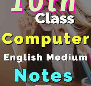Download 10th Computer Notes English Medium Complete Book fi