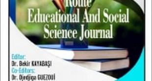 بحثا علميا في مجلة ريس الدولية