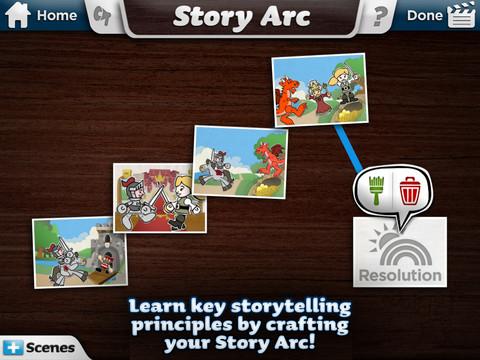 Historiefortælling med app'en Toontastic
