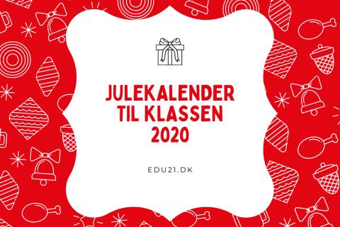 julekalender klassen 2020