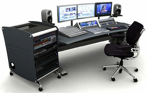 DSLR video editing station