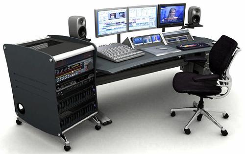 DSLR video editing station