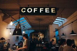 coffee shop, great place to meet