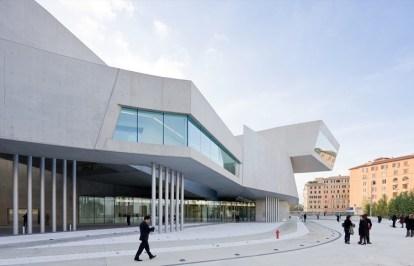 Figura 03: National Museum of the 21st Century Arts - MAXXI (Italia).