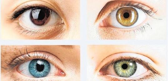COC - Os olhos podem mudar de cor?