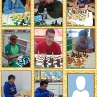 Os 8 Campeões do Circuito de Xadrez Rápido Colégio Froebel de São Bento do Sul
