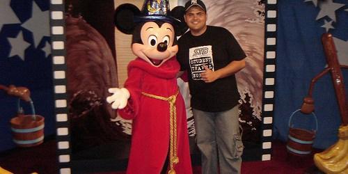 Eu e o Mickey do MGM