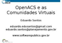 OpenACS_e_as_Comunidades_Virtuais