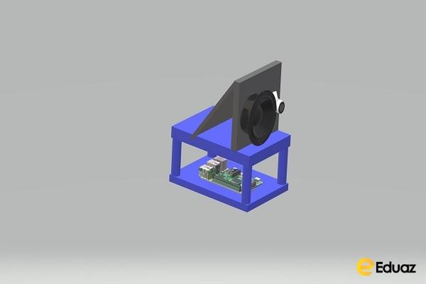 COVID testing system using IOT