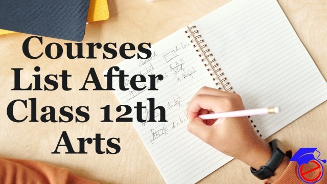 Courses List After Class 12th Arts