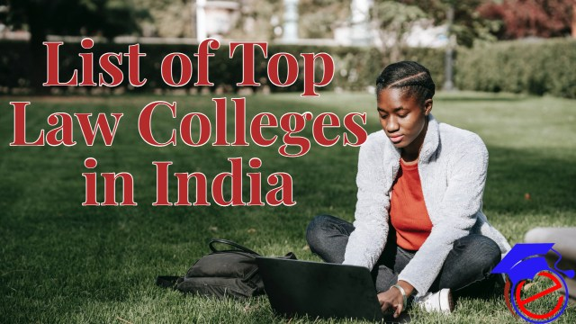 List of Top Law Colleges in India