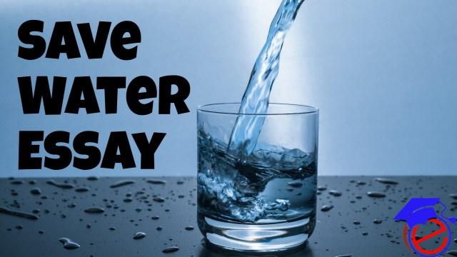 जल संरक्षण पर निबंध