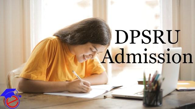 DPSRU Admission
