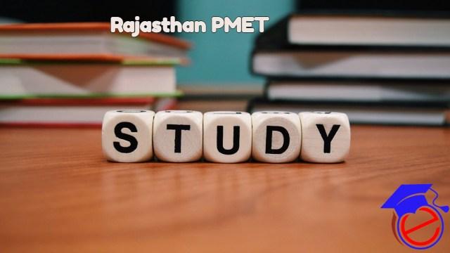 Rajasthan PMET 2022