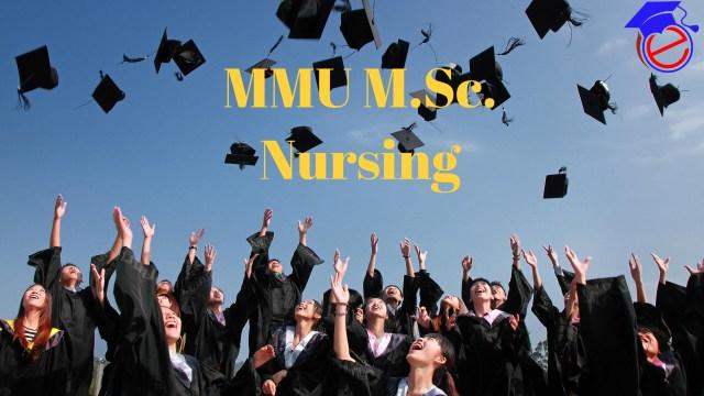 MMU M.Sc. Nursing 2021