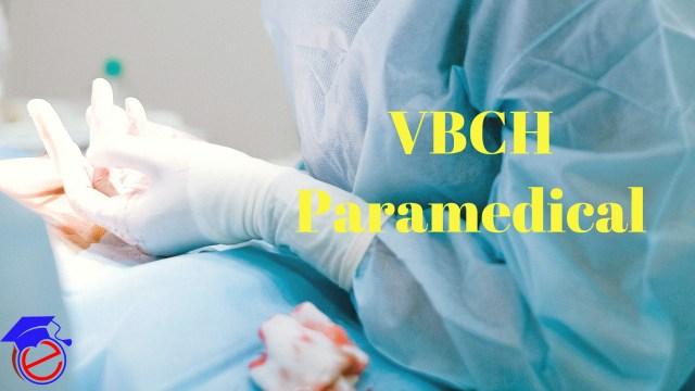 VBCH Paramedical 2021
