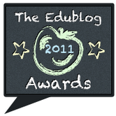Click here to get directly to the Edublog Awards page.