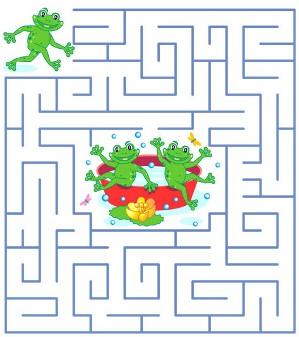 Printable Maze Games For Kids