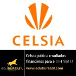 Celsia publica resultados financieros para el III-Trim/2017