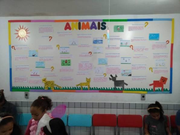 2º ano - Animais - Mural