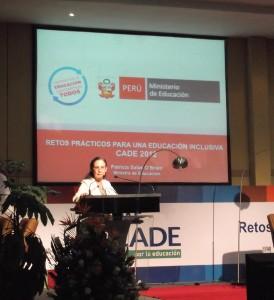 CADE Educativo: Hacia una educa- ción de calidad, eficiente e inclusiva
