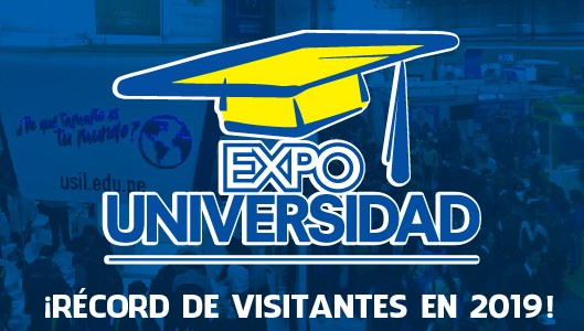 ¡¡Expo Universidad 2019 rompe récord de visitas!!