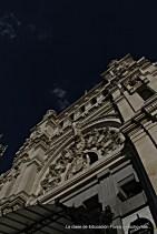 Fachada de la actual sede del Ayuntamiento de Madrid